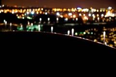 Por encima de la cúpula