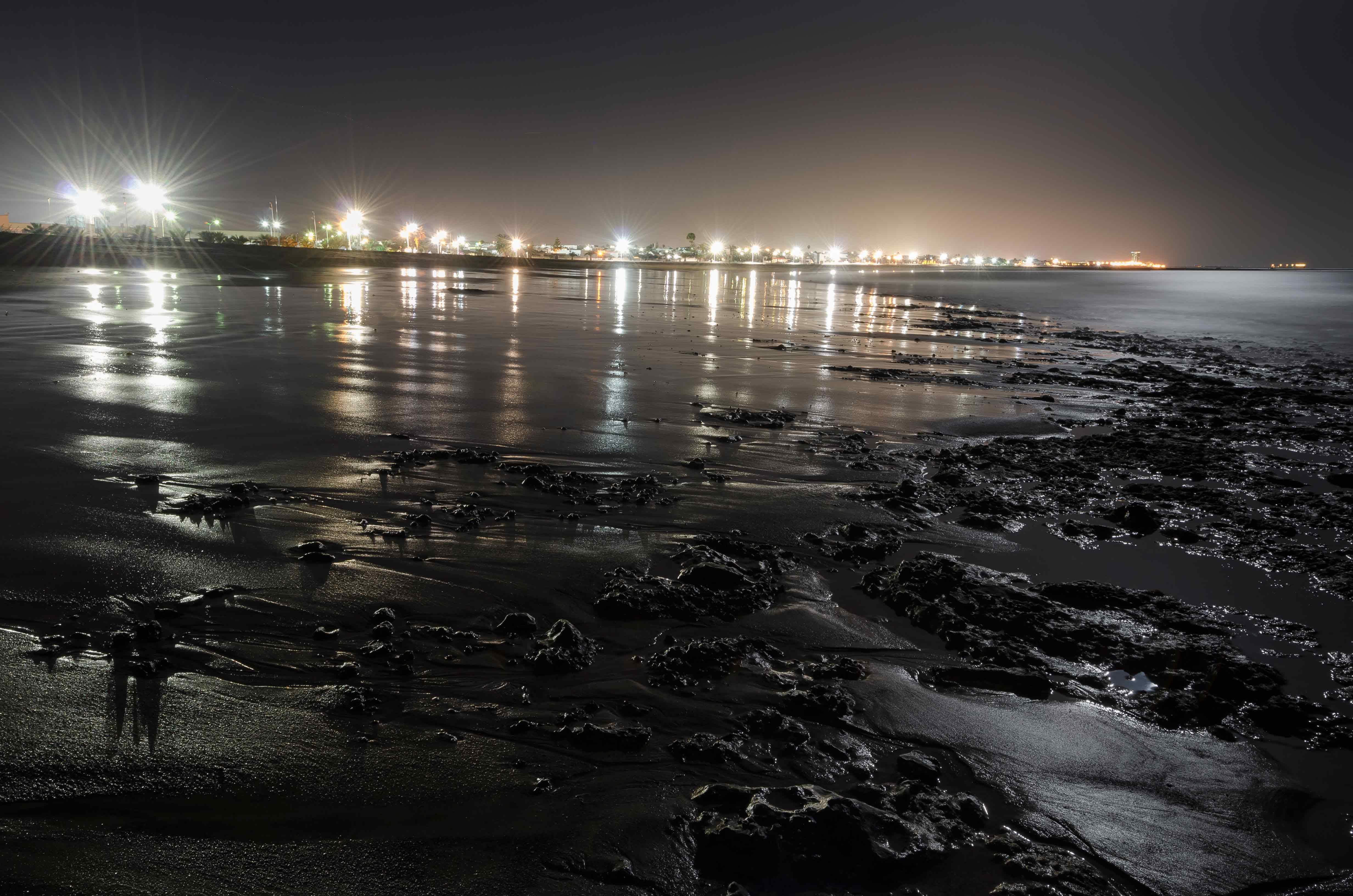 Playa Honda desde la orilla